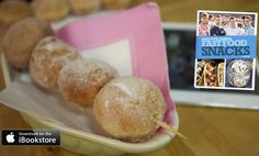 Doughnut Kebabs - Incredible fast food snack, different flavoured sugars will definitely keep you guessing!