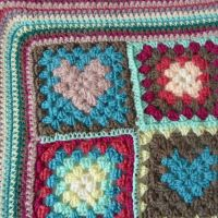 edging with  crochet.