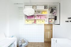 Timber Terrace - a kids room with light furnishings and in white tone, featured on NONAGON.style