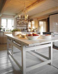 Bench - kitchen white