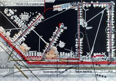 AD Classics: The Plug-In City (plan) / Peter Cook, Archigram