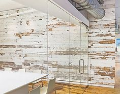 Great Office/ Conference Room Wall!  Love the Patina