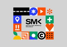 New Logo and Identity for SMK by Andstudio