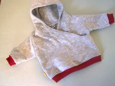 Made by Me. Shared with you.: Lapped Front Infant Hoodie: Tutorial and Pattern 0-3 months