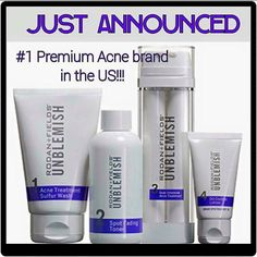 BIG NEWS!!! As you know, Proactiv Solution is the #1 acne product in the U.S. and our doctors OWN 83% of the global acne market. But what you may not know (just announced!) is that Rodan + Fields is now officially THE #1 PREMIUM acne brand in the U.S. with their new UNBLEMISH line for acne, blemishes, and breakouts!!! NUMBER 1!!! If you are ready for the best skin of your life--contact me today. kaugustin.myrandf.com