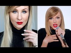 "TAYLOR SWIFT makeup & hair tutorial from ""shake it off"" video, hiilen"