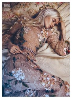 Abbey Lee Kershaw editorial for Vogue China