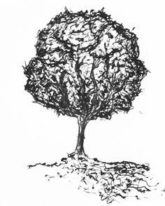 #tree #rustic #blackandwhite #draw #handdraw #ViannaV