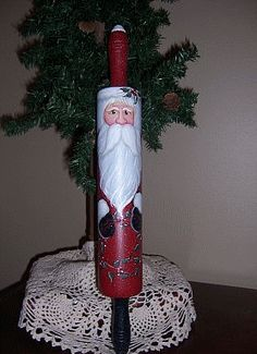 Another Santa Rolling pin