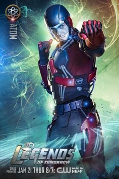 """LOOK: """"Legends of Tomorrow"""" Cast Prepares for Takeoff in New Character Posters - Comic Book Resources"""