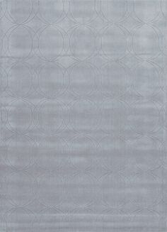 Metro Collection 100% Wool Area Rug in Slate by Jaipur