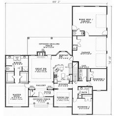 Homes on 2000 sq ft 3 bedroom 2 bath home floor plans with garage