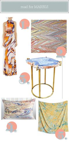 Marble for your home + event.