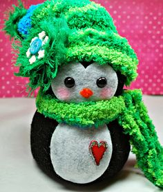Up On Tippy Toes ~ Penguin ~ Handmade Sock Creations