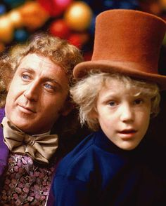 Gene Wilder & Peter Ostrum in Willy Wonka & the Chocolate Factory (1971)