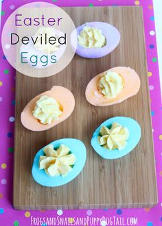 Deviled Eggs for Easter. Cooking with kids. - FSPDT