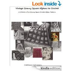 Amazon.com: Vintage Granny Square Afghans to Crochet - Crochet Granny Square Afghan Patterns a Collection of 11 Afghans to Crochet eBook