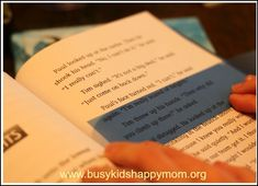 Improve Reading Fluency with Reading Trackers. Tips on how to make them yourself too.  - Busy Kids=Happy Mom