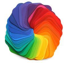paint swatch color wheel