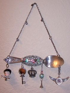 Altered Silver Spoon - MAMA by Nostalgic Collage, via Flickr