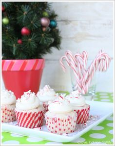 Peppermint Cupcakes!!