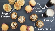 """They say there is a little Irish in us all on St. Patrick's Day. Enjoy the  festivities with these traditional """"little"""" recipes  MINI SHEPERDS'S PIE POTATO PANCAKES CORNED BEEF SLIDERS  MORE KITCHEN TIPS & RECIPES Mar 4, 2017 Blog, Bed bath and beyond blog,  Above and beyond blog, recipes,"""