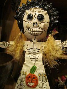 Coconut shell muerto.  Guerrero, Mexico.