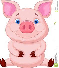 cute piglet cartoon - Google Search