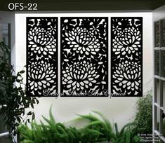 Please note that large screens, such as 36 x have higher shipping costs. Staircase Railings, Iron Staircase, Lattice Screen, Laser Cut Screens, Outdoor Rooms, Outdoor Living, Thing 1, Panel Wall Art, Decorative Panels