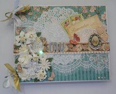 Livro de Assinaturas para Casamento | Image Scrap | Elo7