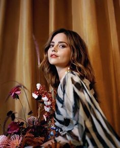 Photo of Jenna Coleman from The Telegraph. August 18, 2017.
