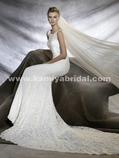 Only - $359.00 Pronovias Omar Mermaid 2016 bridal gown [Pronovias-Omar] Pronovias bridal gown in kamiyabridal.com