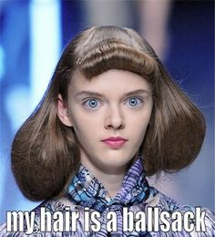 Ballsack Hair