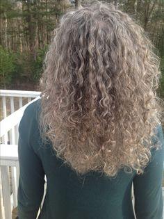 Growing curls