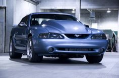 1998 Ford Mustang Blue