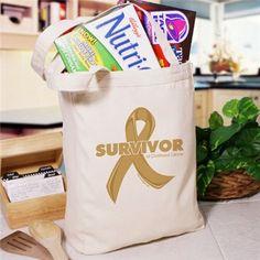 Childhood Cancer Survivor Tote Bag
