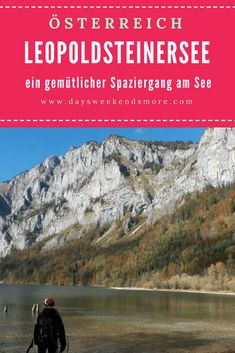 Ein wunderschöner Spaziergang am Leopoldsteinersee. Ein perfektes Ausflugsziel für den Herbst. Steiermark. Reisen In Europa, Half Dome, Wanderlust, Outdoor, Mountains, Nature, Travel, Inspiration, Vacation Travel