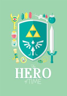 Legend of Zelda Designs - Created by Milli JaneAvailable for sale as prints and more on Society6.