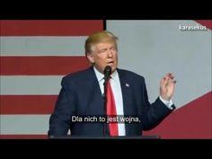 Donald Trump: Clintonowie to kryminaliści Przemówienie w West Palm Beach na Florydzie (13 października 2016) w odpowiedzi na zarzuty o molestowanie kobiet - To nie są po prostu kolejne czteroletnie wybory. To jest rozdroże w historii naszej cywilizacji, które rozstrzygnie czy my, naród odzyskamy 8 listopada 2016 kontrolę nad naszą władzą.' - Donald Trump