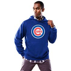 Chicago Cubs Majestic Scoring Position Hoodie - Royal - $59.99