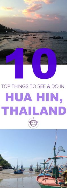 Top 10 Things To See and Do in Hua Hin, Thailand Thailand Travel Guide, Visit Thailand, Travel Blog, Asia Travel, Phuket, Family Travel, Travel Kids, Khao Lak Beach, Bali
