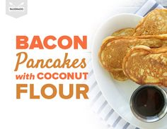 Bacon Pancakes with Coconut Flour