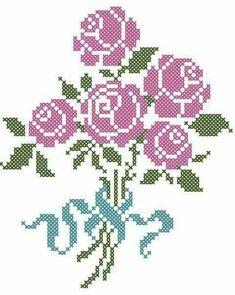 Brilliant Cross Stitch Embroidery Tips Ideas. Mesmerizing Cross Stitch Embroidery Tips Ideas. Cross Stitch Rose, Cross Stitch Baby, Cross Stitch Flowers, Cross Stitch Charts, Cross Stitch Designs, Cross Stitch Patterns, Rose Embroidery, Cross Stitch Embroidery, Embroidery Patterns
