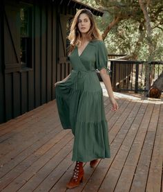 The Augusta Dress | Washed Pine – Christy Dawn Coat Dress, Buy Dress, Jacket Dress, Dress Skirt, Dresses With Tennis Shoes, Campus Style, House Dress, It Goes On, Green Fabric