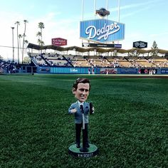 Vin Scully Bobblehead - Dodgers Stadium, Los Angeles, CA