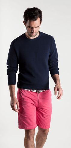 Love the sweater. - Summertime solids.