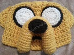Adventure Time's Jake the Dog Character Hat Crochet Pattern - Media - Crochet Me