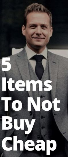 5 Items To Not Buy Cheap