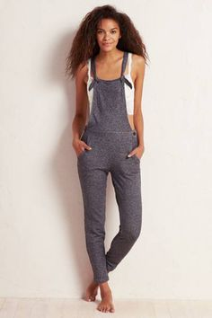 Aerie Supersoft Overalls  by AERIE | A fall fave made cozier overall.  Shop the Aerie Supersoft Overalls  and check out more at AE.com.