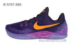 newest a2e40 06fc0 Nike Zoom Kobe Venomenon 5 Purple Orange Free Shipping Tb35N